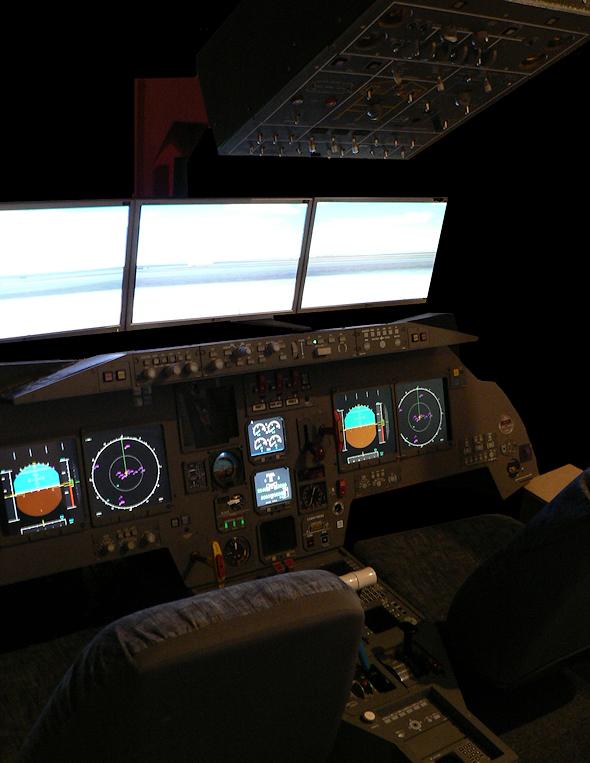Cabine Falcon 2000 - vue globale